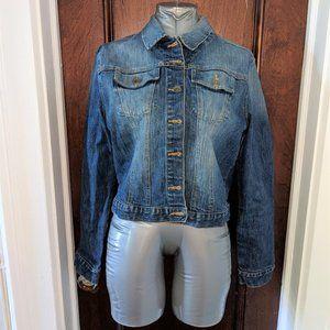 Vintage-Style Denim Jacket